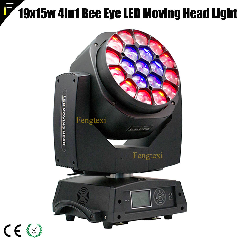 19x15w 4in1 RGBW Big Bee Eye