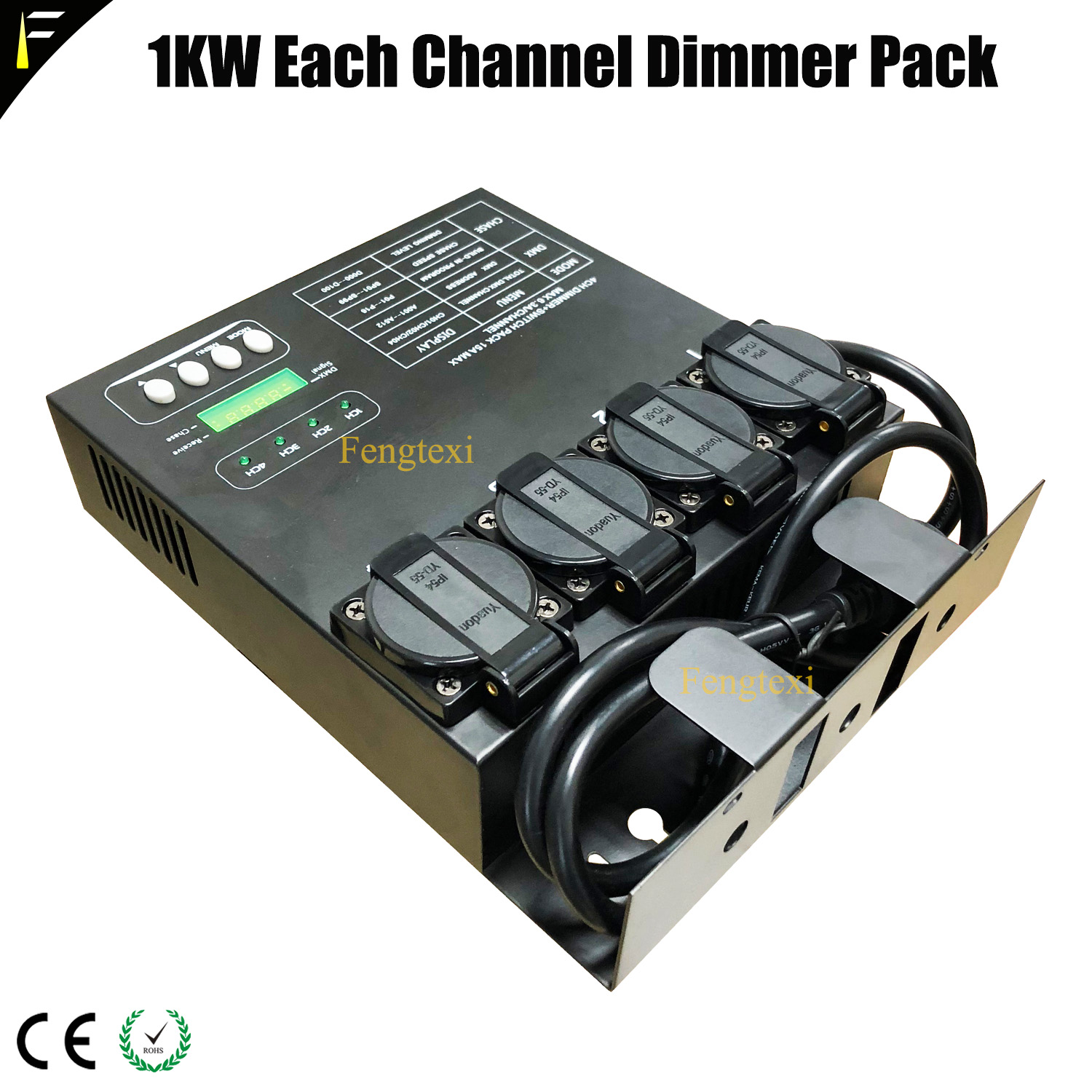 4 Channel DMX Dimmer Multi Switch Pack