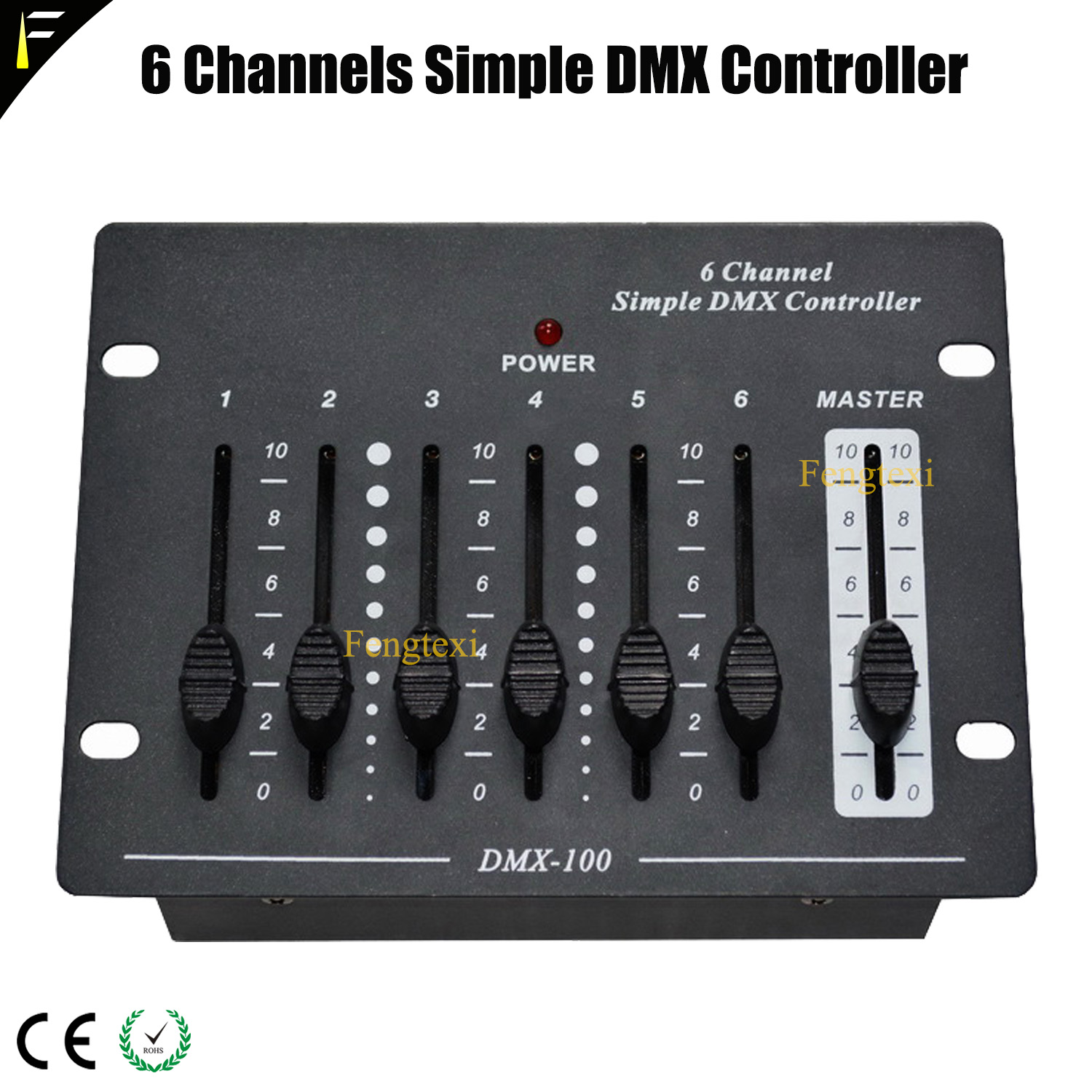 Mini 6 Channels Simple DMX Controller